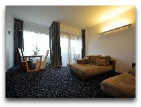 отель Palanga: Двухкомнатные апартаменты SPA Design
