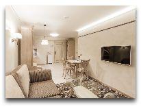 отель Hotel Apartment Dzukija: Апартаменты - общий вид от кна