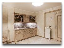 отель Hotel Apartment Dzukija: Апартаменты - кухня