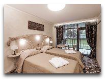 отель Hotel Apartment Dzukija: Апартаменты - спальня