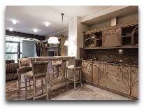 отель Hotel Apartment Dzukija: Кухонный уголок