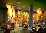 отель Hotel Aqua: Кафе в аквапарке