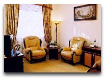 отель Черепаха: Двухкомнатный люкс - гостиная