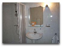 отель Hotel Egliu Slenis (Juodkrante): Ванная комната в трехкомнатном номере