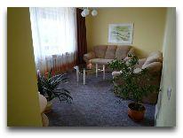 отель Hotel Egliu Slenis (Juodkrante): Гостиная в четырехкомнатном номере