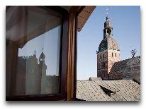отель Hotel Justus: Вид из окон