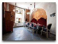 отель Hotel Justus: Ресторан