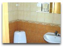 отель Hotel Nidos Banga (Nida): Ванная комната Villa Vaiva
