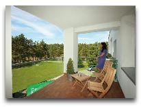 отель Hotel Nidus (Nida): Терраса в люксе