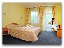 отель Pušynas: Cпальня в номере