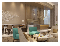 отель Hyatt Regency: Лобби-бар