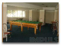 отель Impuls hotel: Бильярдная