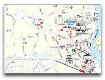 отель Inger: Карта