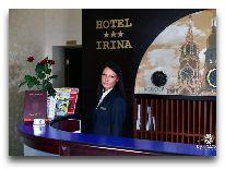 отель Rixwell Irina Hotel: Ресепшен