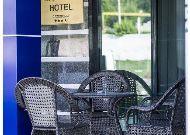 отель Iris: Терраса отеля
