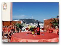 отель Irmeni: Терраса ресторана
