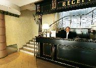 отель Jazz: Ресепшен