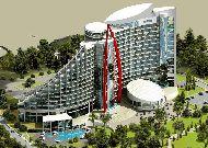 отель Bilgah Beach Hotel (бывший отель Jumeirah Bilgah Beach Hotel): Фасад отеля