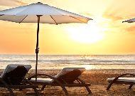 отель Bilgah Beach Hotel (бывший отель Jumeirah Bilgah Beach Hotel): Пляж отеля