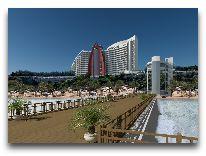 отель Bilgah Beach Hotel: Территория отеля