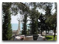 отель Bilgah Beach Hotel: Кафе на пляже
