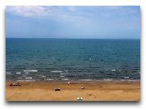 отель Bilgah Beach Hotel: Пляж отеля