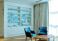 отель Yyldyz: Чайная комната.