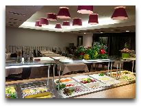 отель Kalev SPA: Ресторан шведский стол