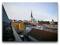 отель Kalev SPA: Вид из номера Suite Золотое утро