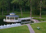 отель Замок Кальви: Беседка в саду
