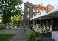 отель Замок Кальви: Терраса ресторана