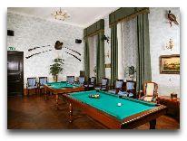 отель Замок Кальви: Бильярдный зал