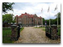 отель Замок Кальви: Въездная аллея