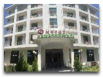 отель Kapaz Naftalan: Вход в отель