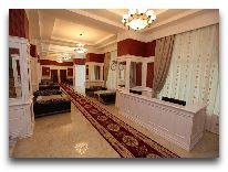 отель Kapaz Naftalan: Ресепшен