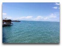 отель Каприз: Пляж отеля
