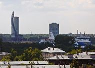 отель Ibis Styles Riga: Вид из окон ресторана