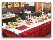 отель Kaunas: Ресторан