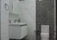 отель Qafgaz Park: Ванная в одноместном номере