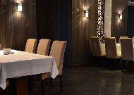 отель Qafgaz Park: Ресторан