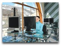 отель Kecharis Hotel: Интернет кафе