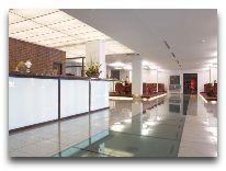 отель Amberton Klaipeda: Ресепшен