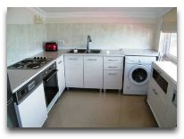отель Kobuleti Beach Club: Апартаменты кухня