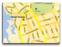 отель Kongo: Расположение отеля Конго на карта