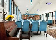 отель Копала Rikhe: Ресторан отеля