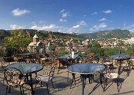 отель Kopala: Вид с террасы ресторана