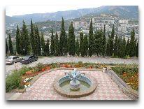 отель Крымский: Территория отеля