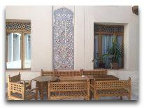 отель Kukaldosh: Внутренний дворик отеля