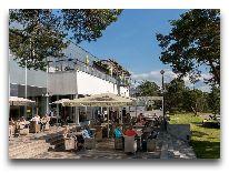отель Laulasmaa SPA: Летнее кафе