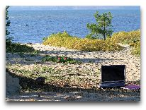отель Laulasmaa SPA: На пляже